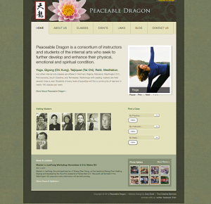 Peaceable Dragon Website